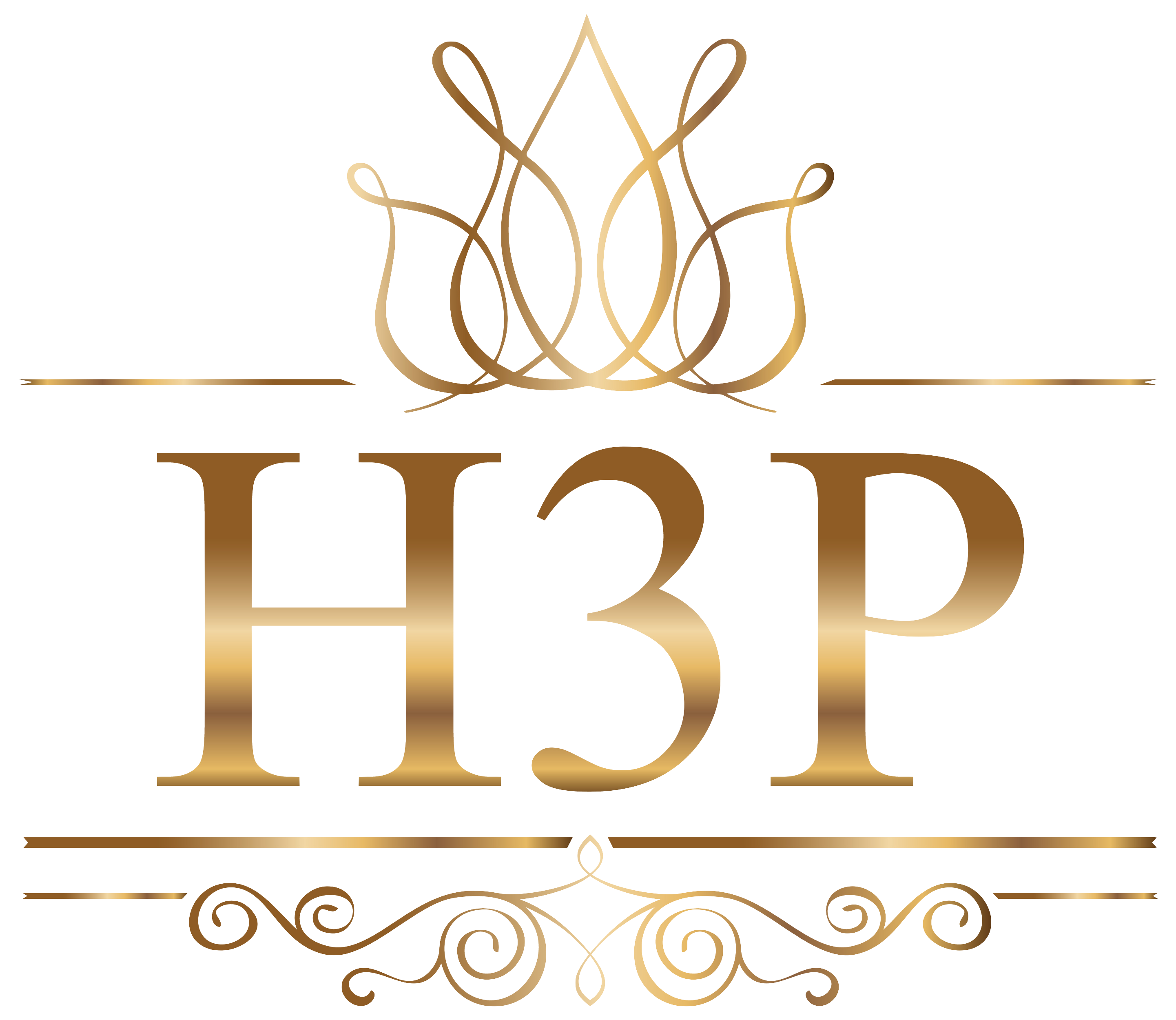 H3P Nail Supply Logo