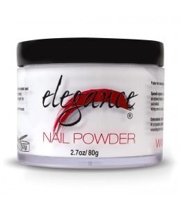 Elegance Nail Powder White