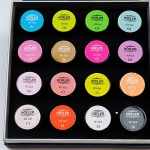 Gel 4D Collection Of 16 Colours