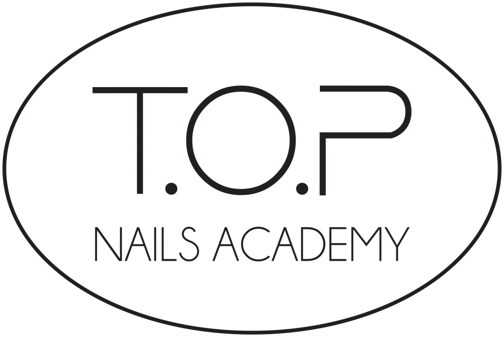 t.o.p nails academy logo